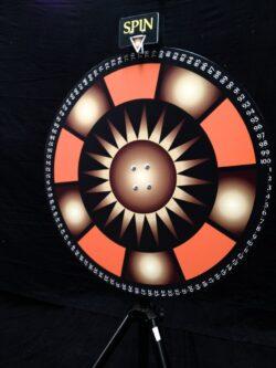 Wheel of Fortune Rad van Fortuin huren Alphen aan den Rijn