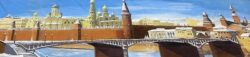 Decordoek Moskou in Wintertijd huren Alphen aan den Rijn